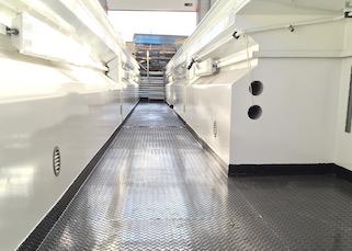 fosse de garage en acier pour maintenance poids lourds